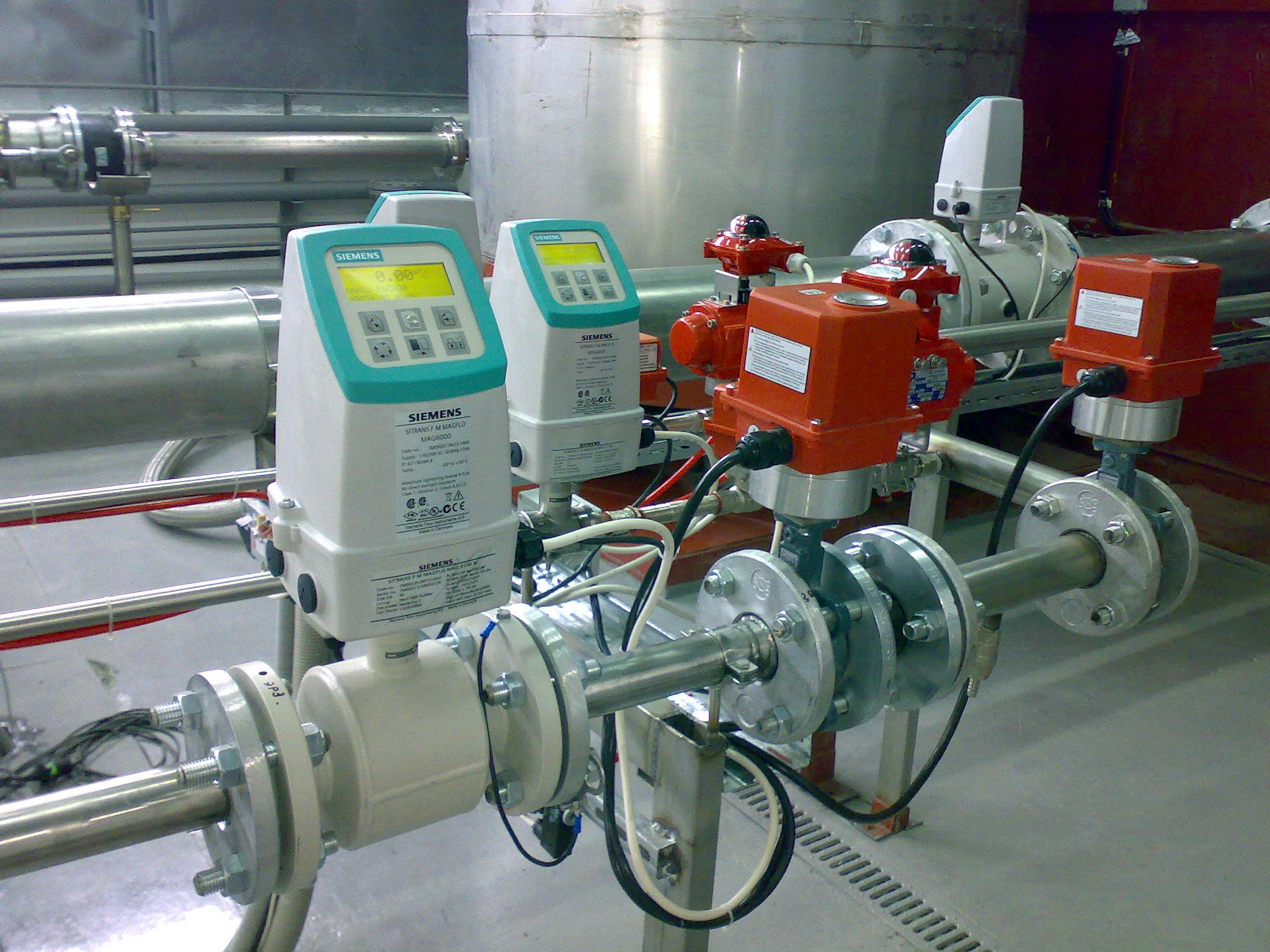 Reference flow meter 2